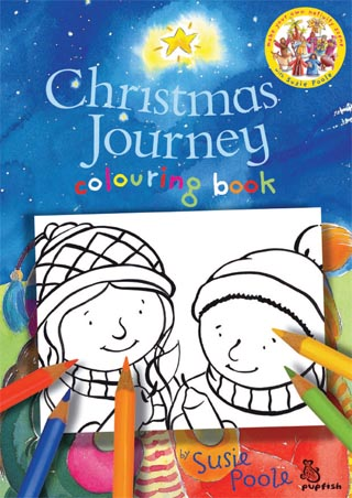 Christmas Journey Colouring Pages